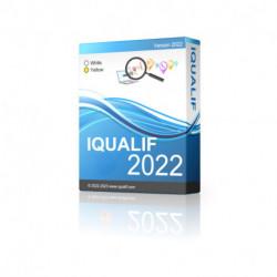 IQUALIF イギリス イエロー、プロフェッショナル、ビジネス