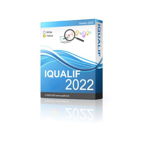 IQUALIF ベルギー イエロー、プロフェッショナル、ビジネス